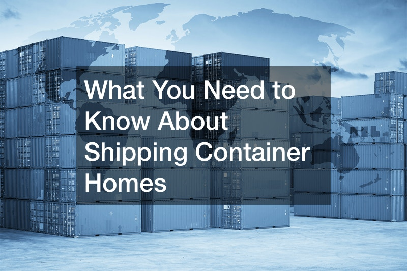 high end shipping container homes